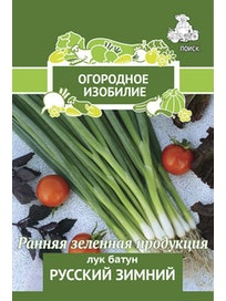 Семена Лук батун Русский зимний, 1 г