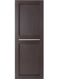 Дверное полотно глухое Uberture Light 2109, цвет шоколад, 800 х 37 х 2000 мм