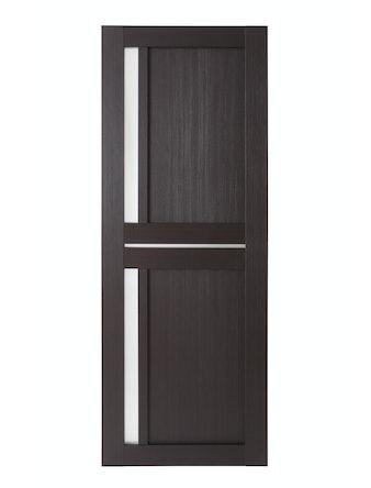 Дверное полотно со стеклом Uberture Light, цвет шоколад, 800 х 37 х 2000 мм