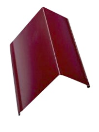 Ветрозащитная планка для мягкой кровли 3005, красная