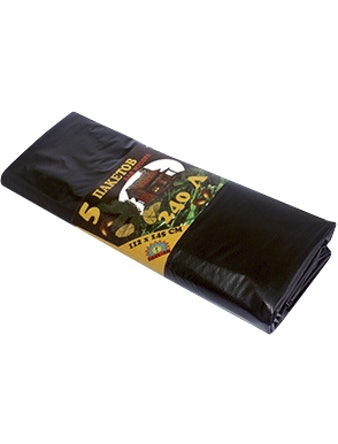 Пакеты для мусора 240 л. 5 шт.