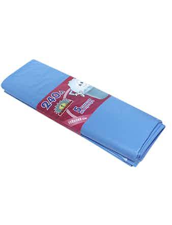 Пакеты д/мусора 240 л 5 шт. голубые FXA