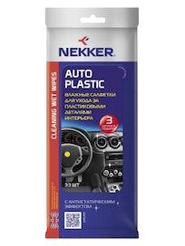 Салфетки для пластика NEKKER 30 шт
