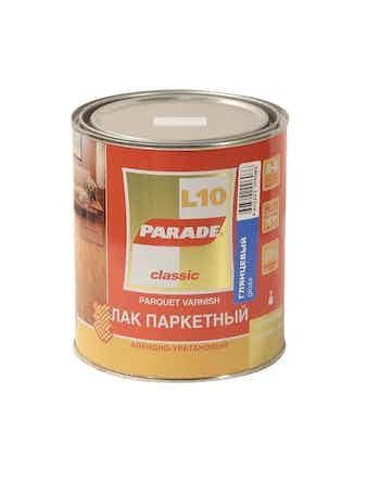 Лак паркетный L10 PARADE П/мат 0,75л