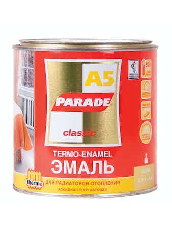 Эмаль PARADE А5 база А Бел. п/мат.0,45л