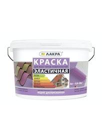 Краска Эластичная Лакра коричневая 3 кг