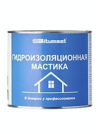 Мастика гидроизоляционная Bitumast, 1,8 кг/2 л