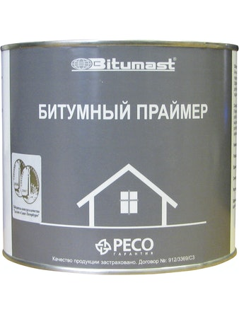 Праймер битумный Bitumast 2 л