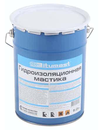 Мастика гидроизоляционная Bitumast, 5 л
