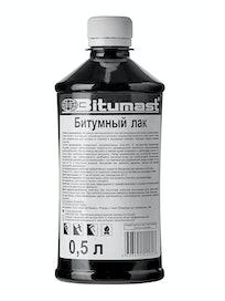 Лак битумный Bitumast, 0,5 л