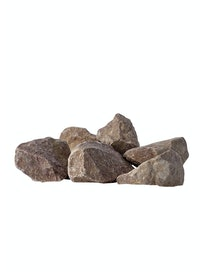 Камни для бани Малиновый кварцит, 20 л