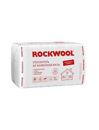 Теплоизоляция Rockwool Эконом, плита 100 х 60 х 10 см, 3,6 м2