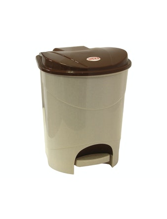 Контейнер для мусора с педалью 19л