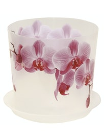 Горшок Деко D12,5 с подст. Орхидея