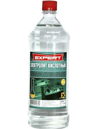 Электролит кислотный Expert, 1,27 кг/л, 1 л
