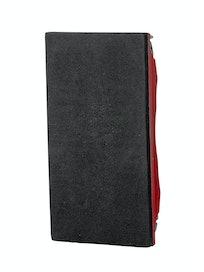 Брусок для шлифования с металлическим зажимом, 165 х 85 мм