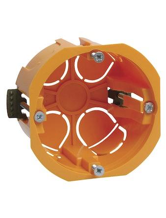 Установочная коробка IEK КМ40022 для полых стен, 65 х 46 мм