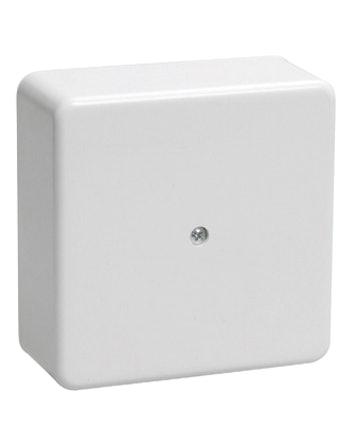 Коробка КМ41219 распаячная для о/п 100х100х29мм белая (с контактной группой)