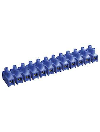 Зажим винтовой ЗВИ-3 н/г 1,0-2,5 мм2 (2 шт/блистер) ИЭК синие