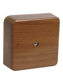 Коробка КМ41206-05 расп. для о/п 50х50х20мм дуб (с конт.гр.)