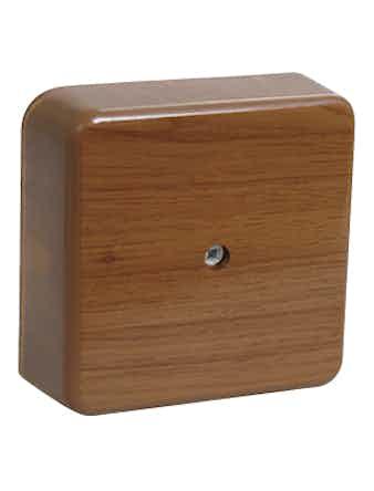 Коробка КМ41222-05 расп. для о/п 100х100х44 дуб (с конт.гр.)