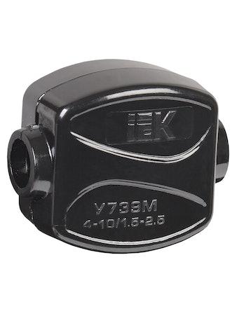 Зажим IEK У-739М 1,5-2,5 мм2 IP20