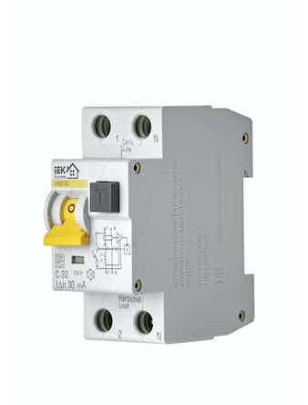 Автомат дифференциального тока IEK Home 1п+N 32А 32С
