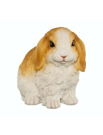 Фигура Пушистые кролики, 10 х 14 х 13 см