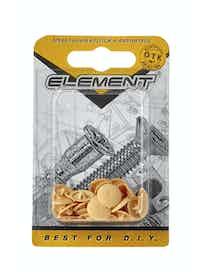 Заглушки на шуруп Element №2, сосна, 40 шт.