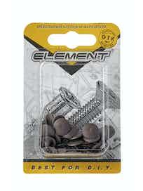 Заглушки на шуруп Element №2, дуб, 40 шт.