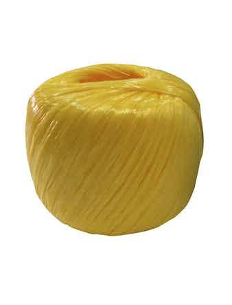 Шпагат полипр.лент. 1200 текс желт. (60 м)