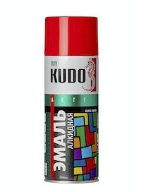 Эмаль аэрозольная красная KUDO 1003, 0,52 л