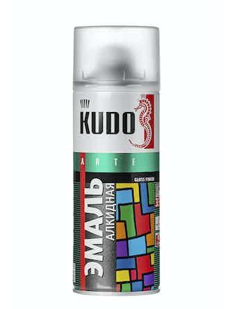 Эмаль аэрозольная хаки KUDO 1005, 0,52 л