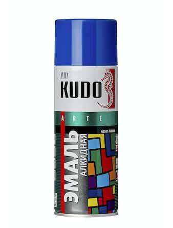 Эмаль аэрозольная синяя KUDO 1011, 0,52 л