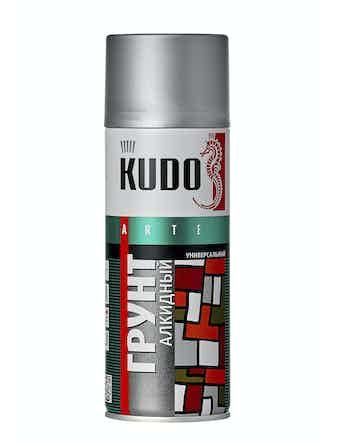 Грунт аэрозольный серый KUDO 2001, 0,52 л