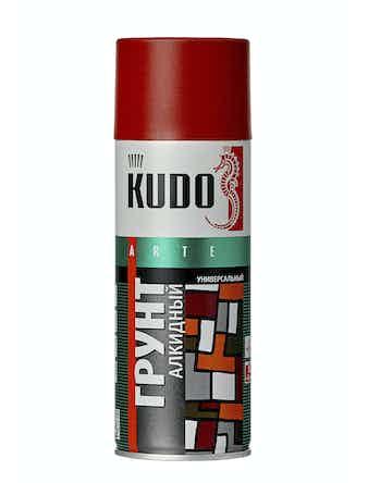 Грунт аэрозольный красно-коричневый KUDO 2002, 0,52 л
