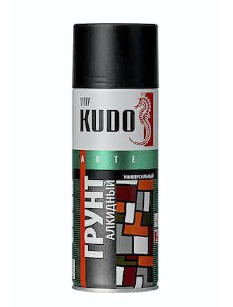 Грунт аэрозольный черный KUDO 2003, 0,52 л