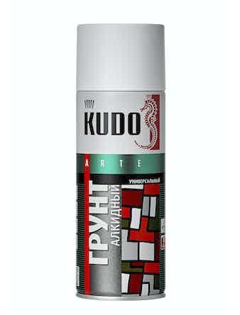 Грунт аэрозольный белый KUDO 2004, 0,52 л