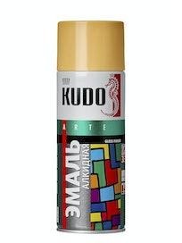 Эмаль аэрозольная бежевая KUDO 1009, 0,52 л