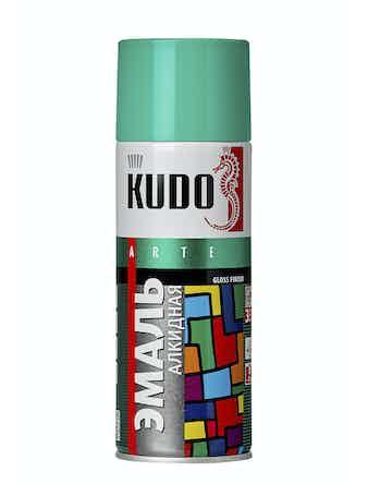 Эмаль аэрозольная бирюзовая KUDO 1020, 0,52 л