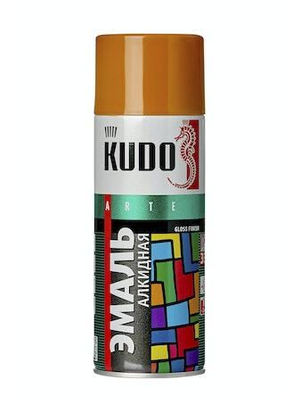 Эмаль аэрозольная охра KUDO 1022, 0,52 л