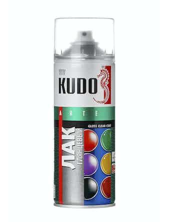 Акриловый лак аэрозольный Kudo 9002, 0,52 л