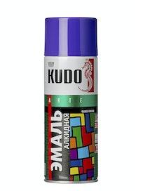 Эмаль аэрозольная фиолетовая KUDO 1015, 0,52 л