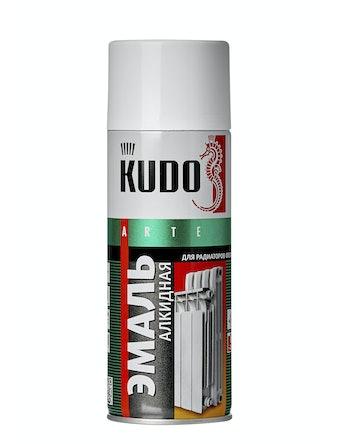 Эмаль аэрозольная Kudo 5101 для радиаторов, белая, 0,52 л