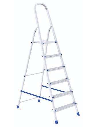 Стремянка алюминиевая Сибртех, 6 ступеней