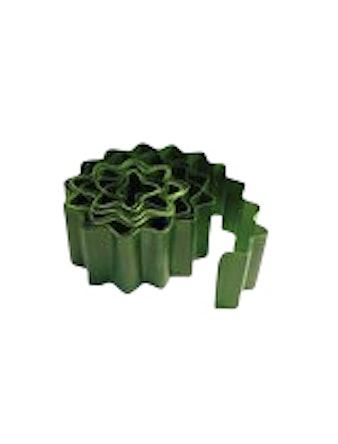 Бордюр садовый, 15 х 900 см, зелёный