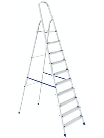Стремянка алюминиевая Сибртех, 10 ступеней