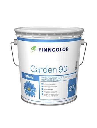 Эмаль Garden 90 глн.осн.С 2,7л Finncolor