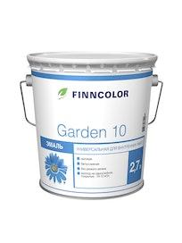 Эмаль Garden 10 матовая А 2,7л Finncolor