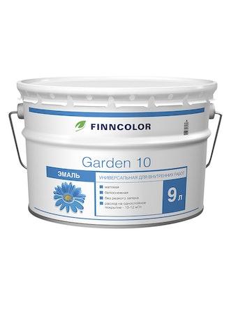 Эмаль Garden 10 матовая А 9л Finncolor